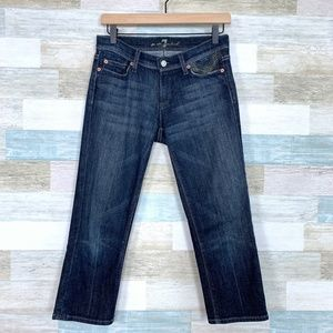 Crop Mia Jeans Dark Wash 7 For All Mankind